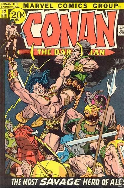 Conan Barbarian Marvel Comic 1970 Books Vg