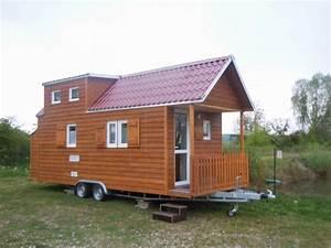 Tiny Haus Auf Rädern : tiny house als wohnwagen house plan 2017 ~ Michelbontemps.com Haus und Dekorationen