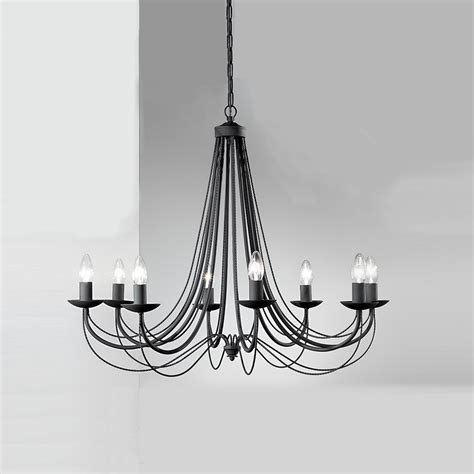 black chandeliers uk franklite fl2173 8 philly 8 light black chandelier