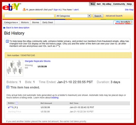 ebay bid more on propworx stargate prop costume auctions ebay