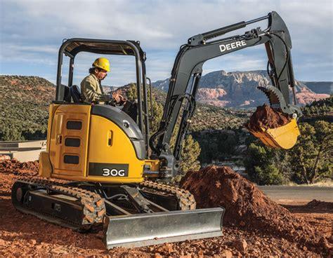 john deere compact excavators summarized  spec guide compact equipment