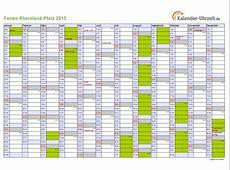 Ferien RheinlandPfalz 2015 Ferienkalender zum Ausdrucken