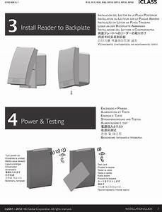 Hid Global Mclassrp30e Multiclass Se Reader User Manual