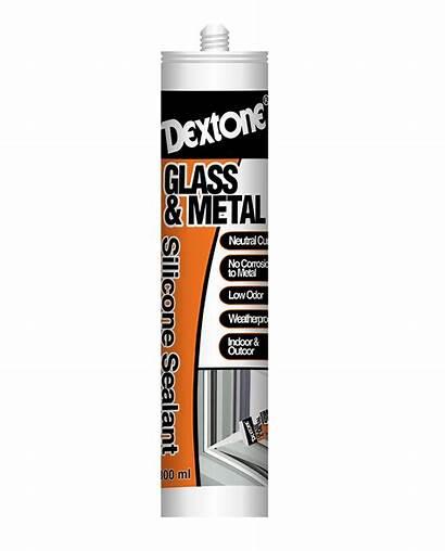 Sealant Silicone Dextone Metal Neutral Glass Catridge