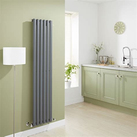 contemporary radiators for kitchens aruba anthracite vertical designer radiator 5744