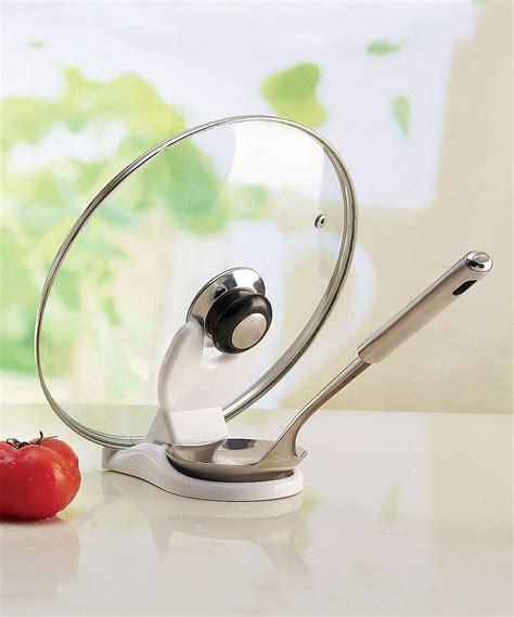 collapsible spoon lid holder clever kitchen gadget