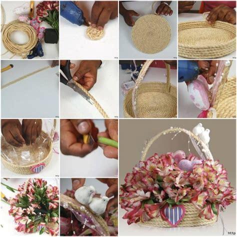 diy   special rope gift basket