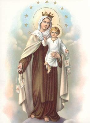 feast   lady  mount carmel holy family  bordeaux
