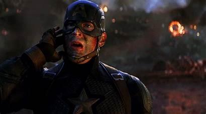 Endgame Avengers Left Gifs Marvel Zacharylevis Captain