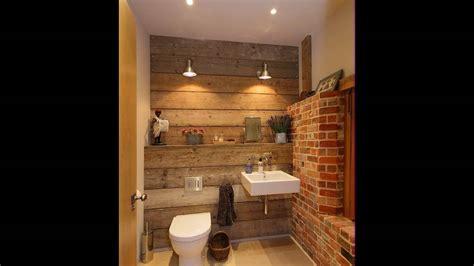 bad mit holz kleines bad mit backsteinmauer und touch of holz w 228 rme