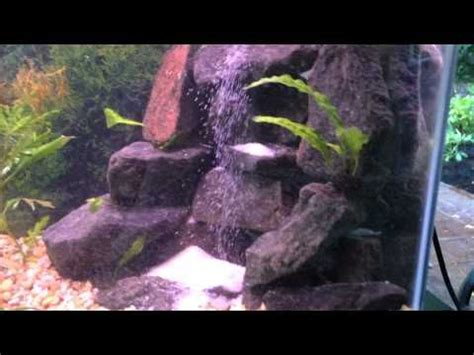 underwater waterfall  cheap  effect