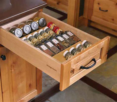 kitchen drawer spice rack organizer spice rack insert new horizon cabinetry 8052