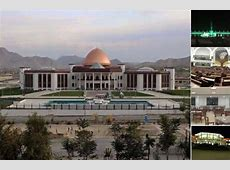 A glimpse into the newly built Afghan parliament building