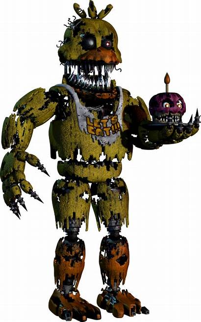 Chica Fnaf Nightmare Wiki Wikia Freddy Nights