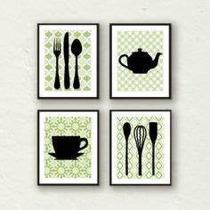 1000 images about kitchen on pinterest kitchen art for Kitchen cabinets lowes with utensil wall art