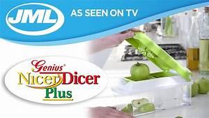 Genius Tv Nicer Dicer : nicer dicer plus from jml youtube ~ Watch28wear.com Haus und Dekorationen