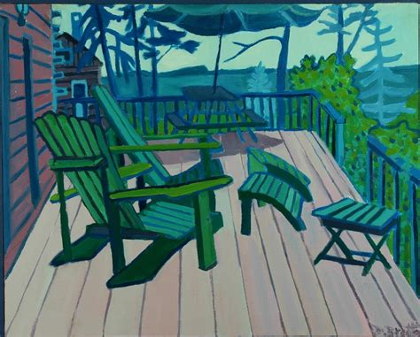 adirondack chairs maine by debra bretton robinson