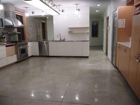 nice floor concrete kitchen floor polished concrete