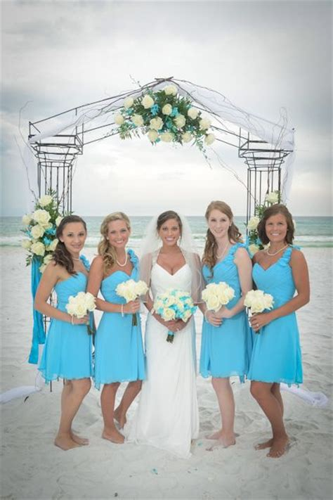 turquoise beach wedding allure bridesmaid dresses www