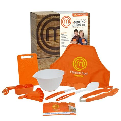 masterchef cuisine masterchef junior cooking essentials set includes