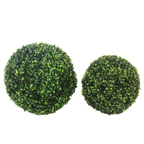 1 Pcs Large Green Artificial Plant Ball Topiary Tree