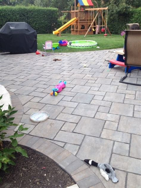 Unilock Patio Cost by Patio Need Help With Disappointing Unilock Patio