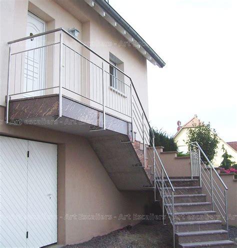 garde corps escalier exterieur garde corps ext 233 rieur rant m 233 tal inox verre escaliers