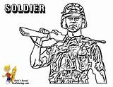 Coloring Army Pages Print Soldier Military Yescoloring Boys Solider Gusto sketch template