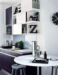 Pour les petites cuisines equipez vous malin et for Deco cuisine pour magasin meuble belgique