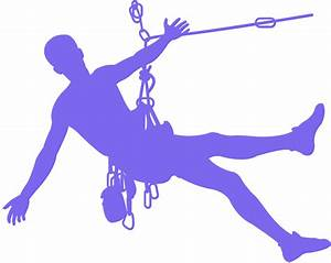 Rock Climbing Silhouette | Free vector silhouettes
