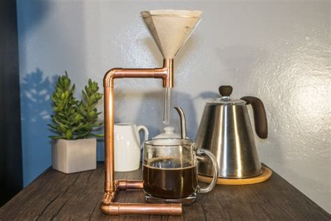 That said, its unique design certain makes it feel a lot more substantial than some of the other pour overs on this list. Copper Coffee Pour Over, Farmhouse Coffee Maker, Copper Coffee Maker, Modern Minimalist Copper ...