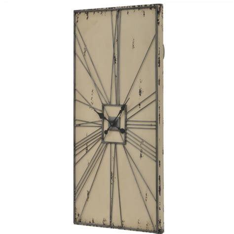 large rectangular wall clock simmons large rectangular clock art deco wall clock