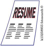 resume clip and illustration 3 885 resume clipart