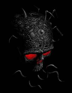 scary skulls images   free scary wallpapers   Scary ...