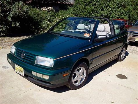 1997 Vw Cabrio by Find Used 1997 Vw Cabrio Convertable Restored Ready For