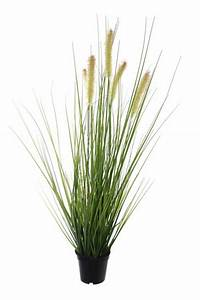 Plante Fleurie Intérieur : plante artificielle gramin e fleurie en pot int rieur ~ Premium-room.com Idées de Décoration