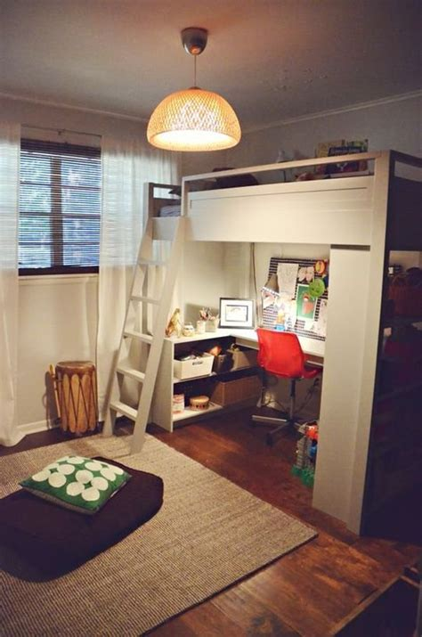 bunk bed with desk underneath mixing work with pleasure loft beds with desks underneath