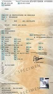 Que Faire De La Carte Grise En Cas De Vente : apprendre lire sa carte grise le guide de la carte grise ~ Gottalentnigeria.com Avis de Voitures