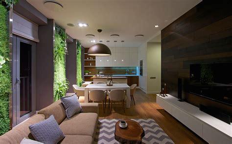a house plan modern apartment design green walls by svoya