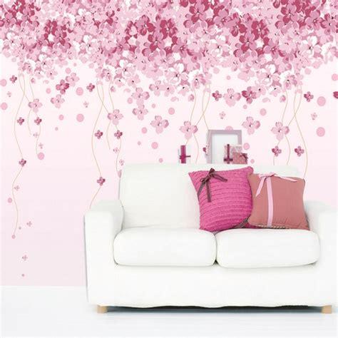 wallpaper dinding bunga 65 desain wallpaper dinding ruang tamu minimalis terbaru