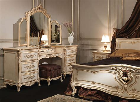 dressing chambre à coucher louis xvi bedroom carved wood bed dressing table