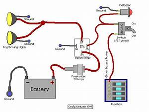 Energy Motor Wiring Diagram Fog Lights