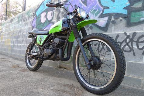 Kawasaki Ke175 1981 Custom Scrambler Enduro Motorcycle