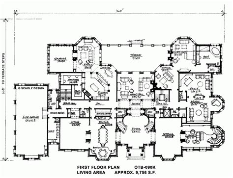 luxury estate home plans luxury estate home floor plans unique whitemarsh hall floor plan architecture pinterest new