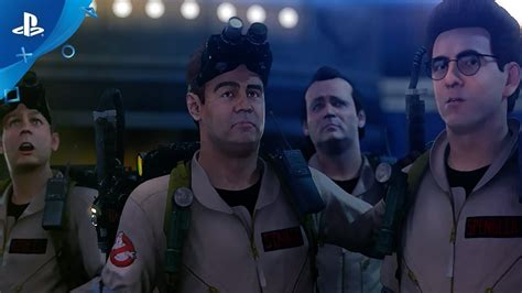 ps4 ghostbusters remastered game trailer games player reveal mejorado tve7