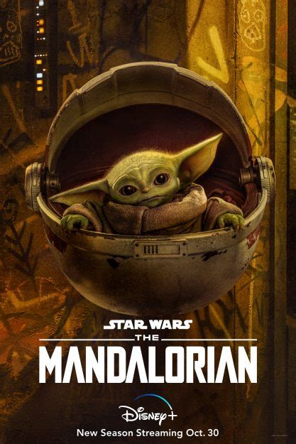 Four New Posters For Season Two of 'The Mandalorian' Have ...