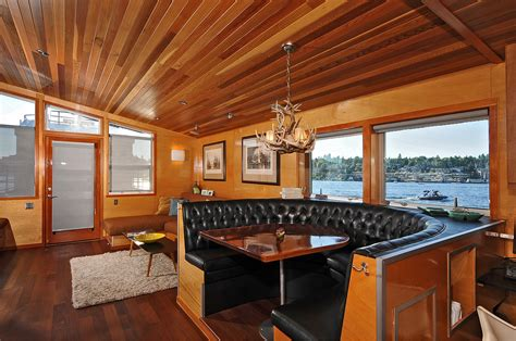 Living On A Boat In Seattle by Seattle Houseboat Featured In Upcoming Coastal Living