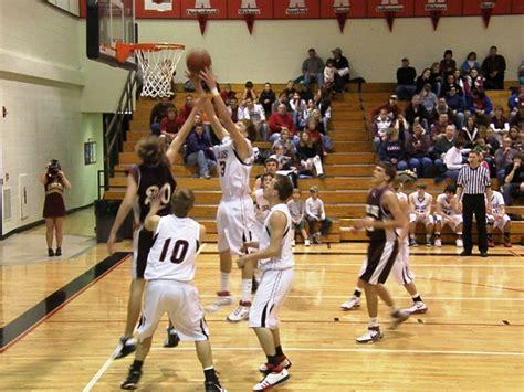 rossville high school boys basketball
