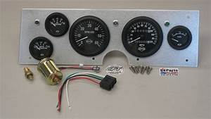 Cpt Dash Panel Kit W   Isspro Gauges For 1966-71 Scout 800  800a  800b
