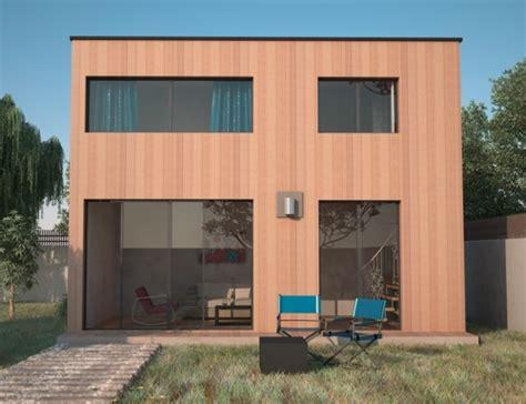 extensiion de maison avec 233 tage en ossature bois